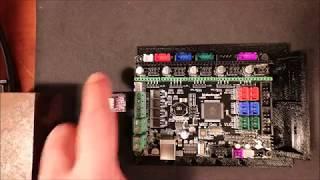 МКС покоління L - конфігурацію DRV8825 степпер
