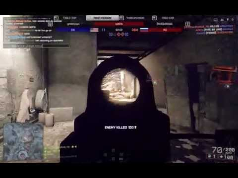 Battlefield 4 - Hacker caught on spectator