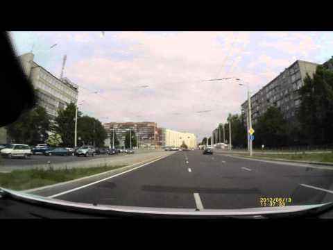 Авторегистратор Prestigio RoadRunner HD1 day пример Калининград