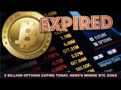 HERE'S WHAT HAPPENS WHEN 8 BILLION IN OPTIONS EXPIRE ON BITCOIN TODAY.