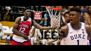 ZION WILLIAMSON IS THE EIGHTH WONDER OF THE WORLD!!!