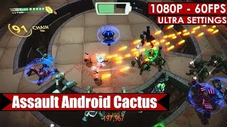 Assault Android Cactus gameplay PC HD [1080p/60fps]