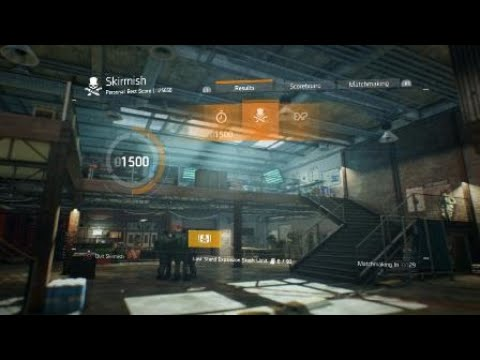 Tom Clancy's The Division™ Skirmish game play Lone Star (My favorite build) |