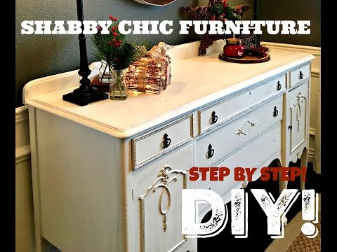 HOW TO: SHABBY CHIC FURNITURE DIY!!