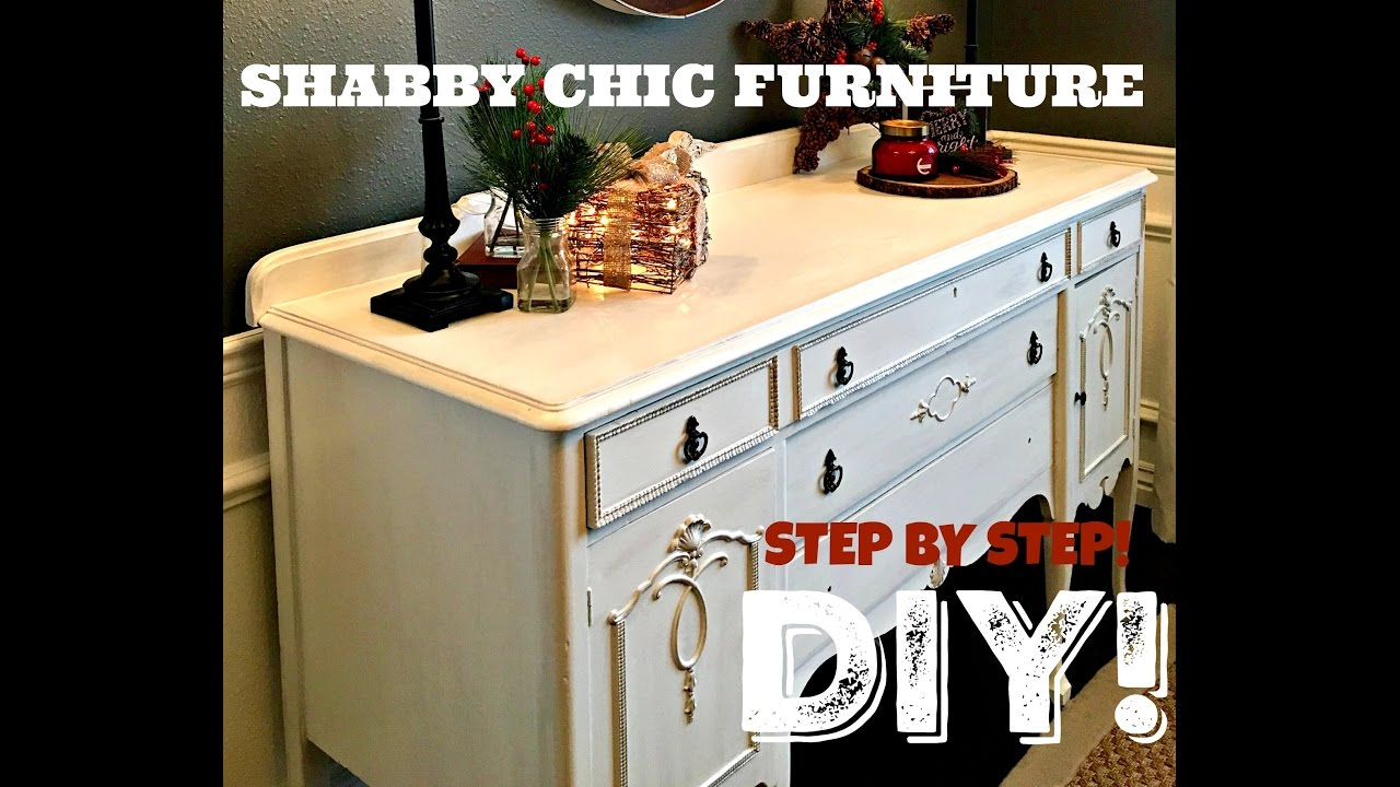 How To Shabby Chic Furniture Diy