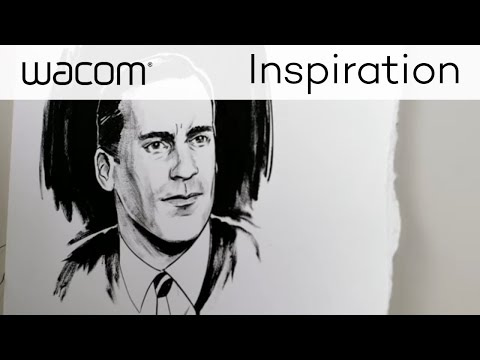 Wacom Create More | Storytelling Illustrator Guy Shield Interview