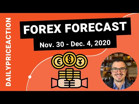 Weekly Forex Forecast for EURUSD, GBPUSD, AUDUSD, GBPNZD, XAUUSD (November 30 – December 4, 2020)
