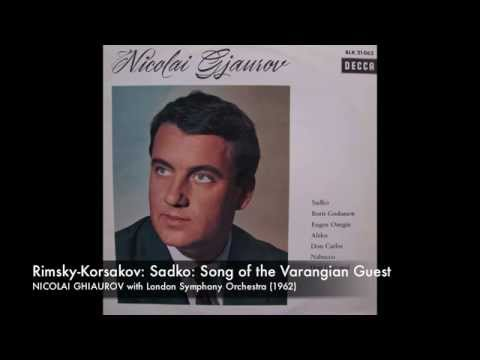Sadko: Song of the Varangian Guest - NICOLAI GHIAUROV 1962