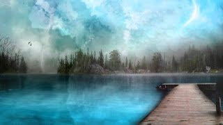 Calming Warm Light - Spirit Healing Rainfall  -Guided Meditation Female Voice