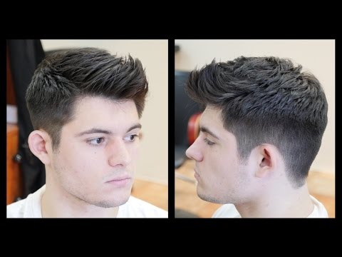 Men's Haircut Tutorial - Fohawk Haircut Fade - TheSalonGuy