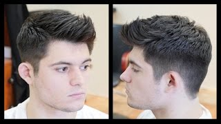 vuclip Men's Haircut Tutorial - Fohawk Haircut Fade - TheSalonGuy
