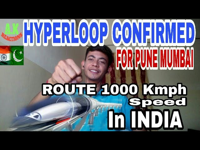 Pakistani Reacts To | HYPERLOOP CONFIRMED FOR PUNE  MUMBAI ROUTE 100 Kmph speed!! | A.K REACTIONS