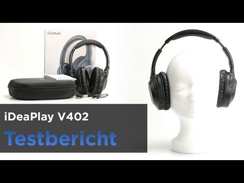 f1718a12bc5 iDeaPlay V402 im Test - Bluetooth-Kopfhörer mit ANC und APT-X - YouTube