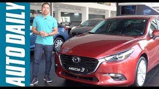 So sánh Mazda3 2017 và Corolla Altis 2017: Bạn chọn xe nào? |AUTODAILT.VN|