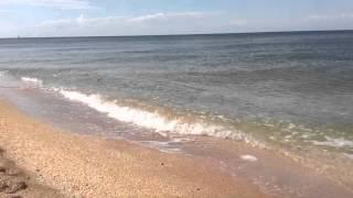 Sea of Azov Beach in Shcholkine, Crimea, Ukraine (Part 4)