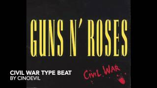 Download Civil War (Guns N' Roses Sample)Hip Hop Instrumental by Cinoevil Productions MP3 song and Music Video