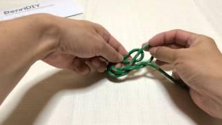 How To Tie The Inline Figure Eight Knot