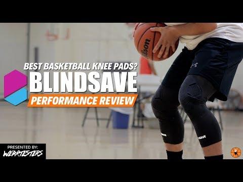 BEST BASKETBALL KNEE PADS? | BlindSave vs. McDavid Performance Review