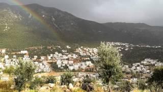 Kalkan /kaş gökkuşağı (kalkan city rainbow)