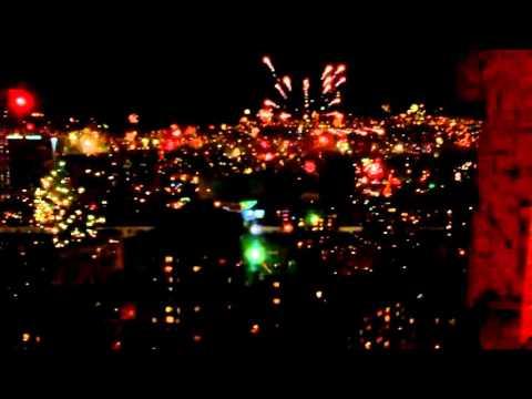 Happy New Year 2016  in Georgia , Tbilisi
