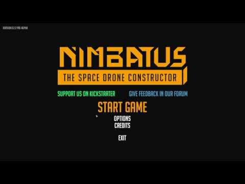 Lets Try Nimbatus - Spaceship / Drone Building & Combat Game