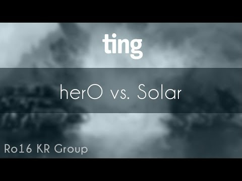 herO vs. Solar - PvZ - TING Open Season 4 Ro16 KR Group