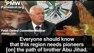 Fatah official glorifies arch-terrorist who planned killings of 125