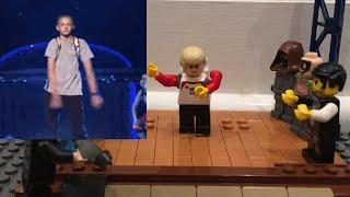 SNL Katy Perry Swish Swish Backpack Kid Scene in Lego