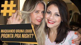 MAQUIAGEM PRA NIGHT 😂 feat. Bruna Louise | Adriane Galisteu
