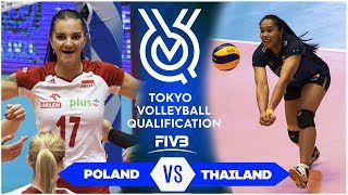 Legendary Match | THAILAND vs POLAND | Volleyball Olympic Qualification 2019 (HD)
