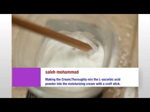 Homemade Vitamin C Cream - YouTube