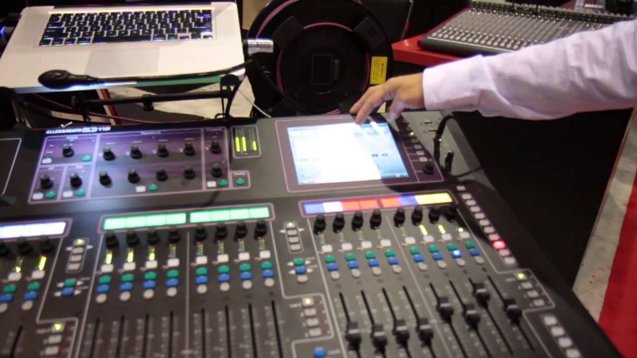 ALLEN & HEATH GLD-112 DIGITAL MIXER DOWNLOAD DRIVERS
