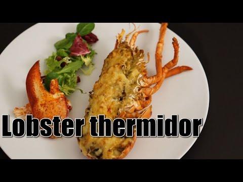 Lobster Thermidor Homard thermidor オマール海老のテルミドール