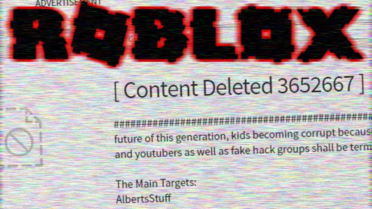 New Roblox Hacker Group They Hacked Me Youtube