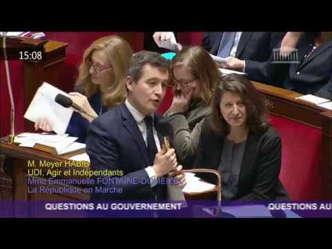 Réponse de Gérald Darmanin sur la suspension de la hausse de la cotisation maladie pour les FDE
