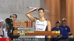 Tero Pitkämäki voitti keihään MM-kultaa 2007
