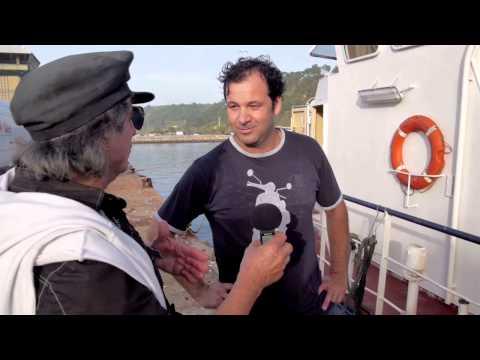 Reparação do Molhe & Os Homens do Mar----Nazaré ,Nov de 2014