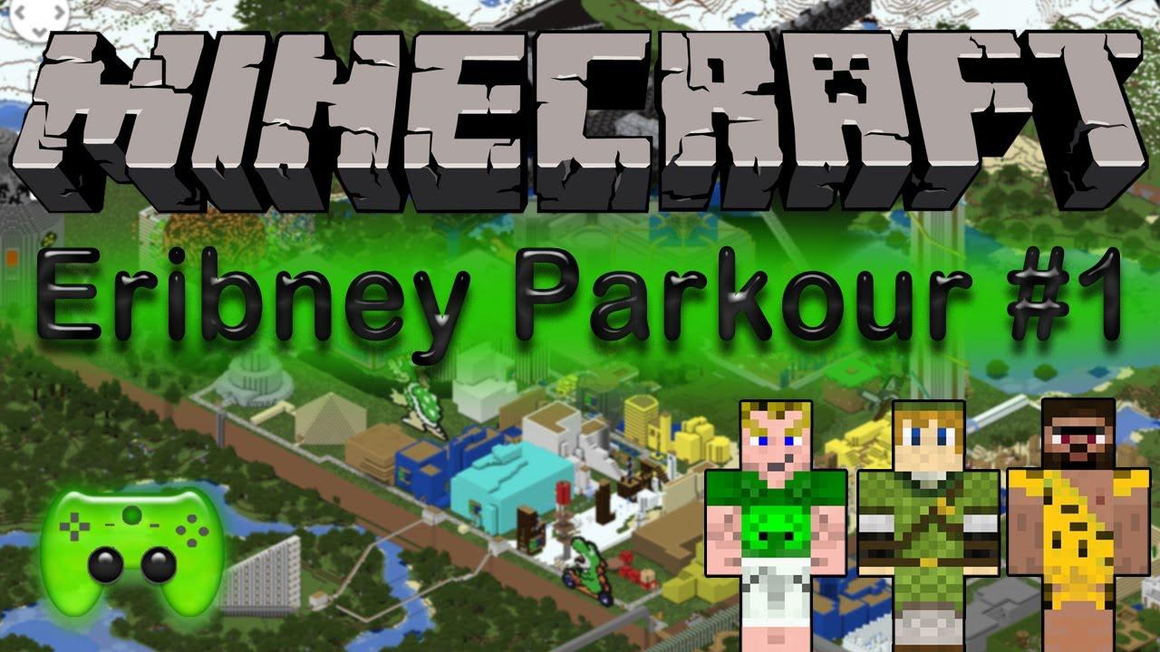 Let\'s Play Minecraft Adventure-Maps [Deutsch/HD] - Eribney Parkour ...