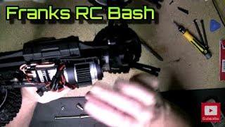 HBX 12891 - Rear Metal Axle Upgrade Mod - Rear Differential Teardown - Dune Thunder - Part# 12711C