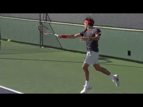 Roger Federer Super Slow Motion 2000fps HD Derecha 01