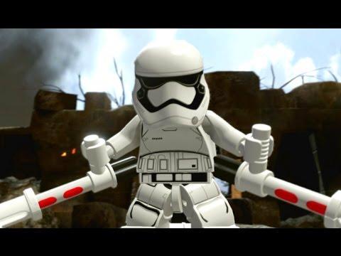 Lego star wars the force awakens walkthrough part 7 battle of takodana youtube - Croiseur interstellaire star wars lego ...