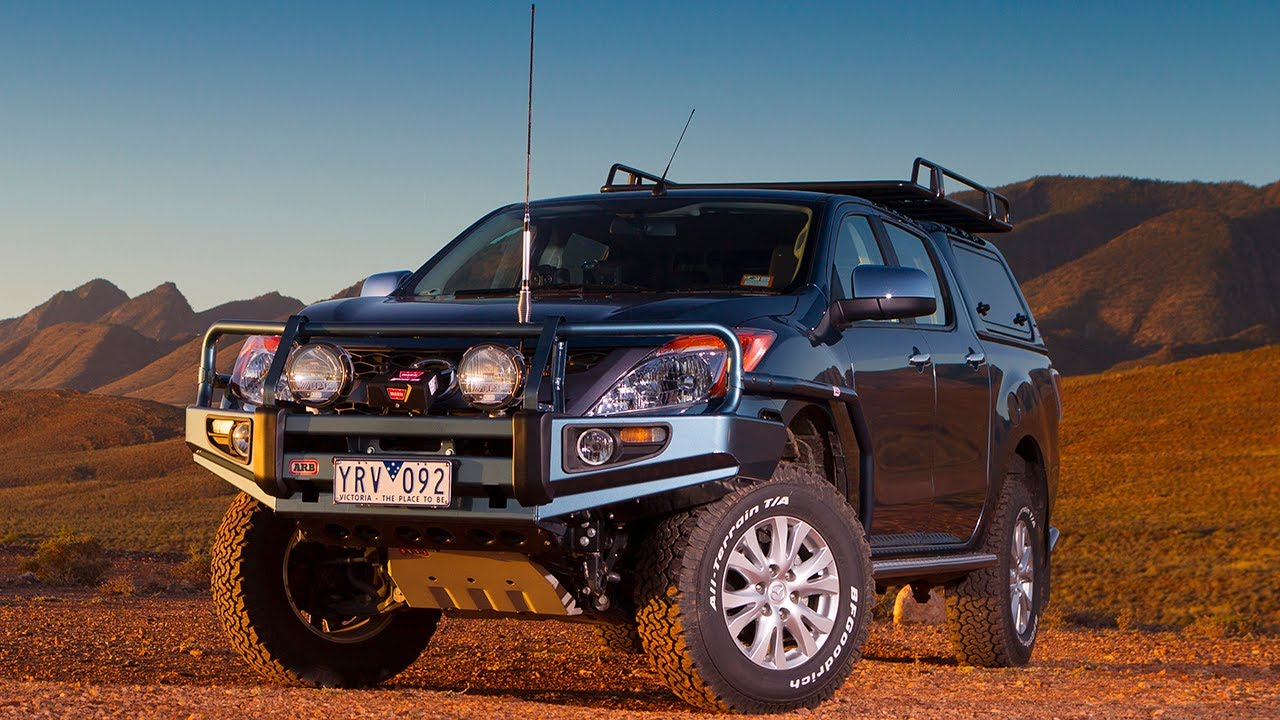 Vw Amarok Modified >> ARB Mazda BT-50 Accessories - YouTube