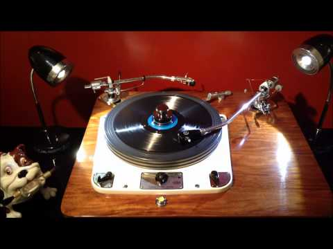 Around The World 78 RPM Record Played on a Garrard 301 Turntable