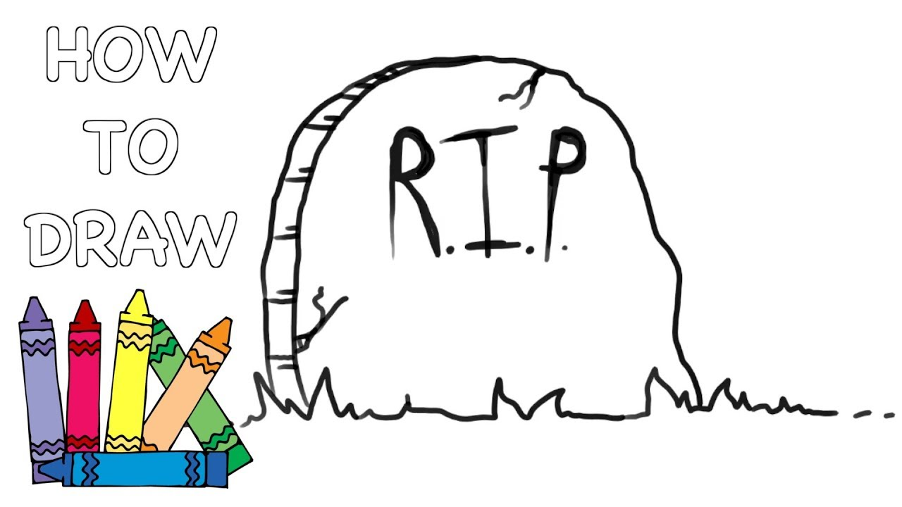 How to Draw a Gravestone