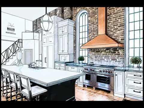Desain Dapur Basah Dan Kering Interior Minimalis Sederhana