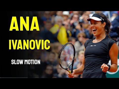 Ana Ivanovic - Slow Motion - 2014 Cincinnati Masters 1000