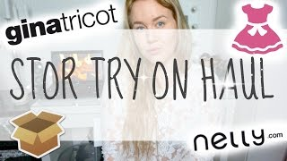 STOR GINA TRICOT HAUL + NELLY
