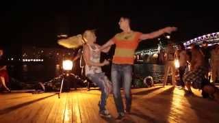 Романтичный танец Хастл. Опен Эйр. Мавлатовы