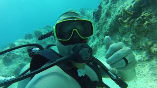 Tommy Scuba Diving in the Grand Cayman islands 04/14/2018