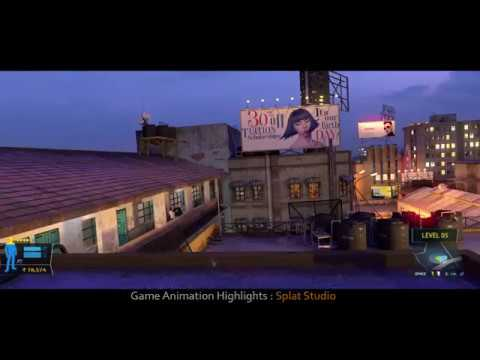 CG Game Sequence : OK Jaanu (Feature film) 2017